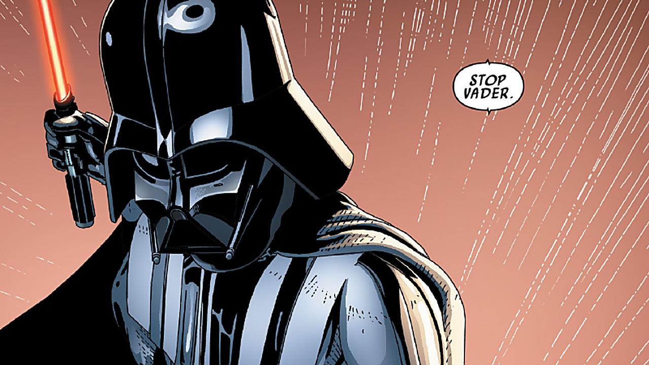 Darth Vader comic Quotes